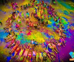 colors and run image