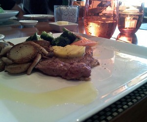 awesome, drinks, and steak image