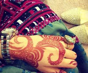henna, ring, and balochi image