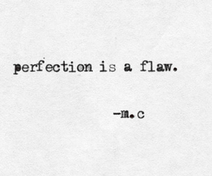 quote, perfection, and girl image