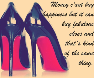 heels, high, and quote image