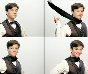 chris colfer and cute image