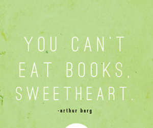 books, can't, and eat image
