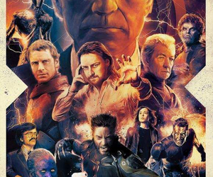 bad ass, superheroes, and x men image