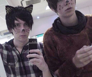 danisnotonfire, amazingphil, and phan image