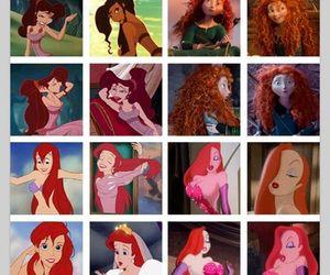 disney, princess, and gingers image
