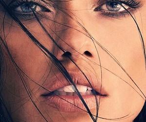 Adriana Lima, model, and face image