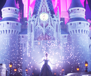 disney, cinderella, and castle image