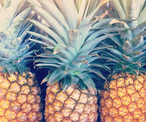 food, pineapple, and fruit image