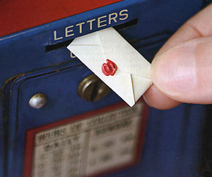 Letter, post office, and cute image
