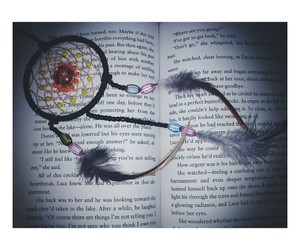 book and dream catchers image