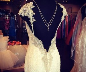 back and wedding dress image