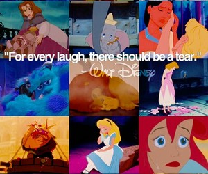 cry and disney image
