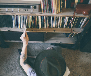 boy, hat, and grunge image
