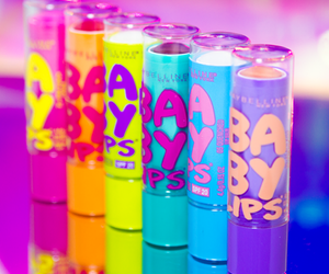 baby lips, makeup, and lips image