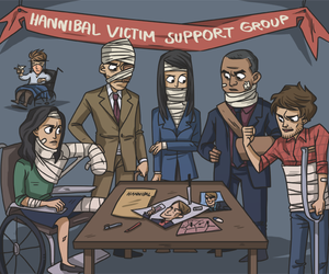 we love hannibal and plus the fannibals image