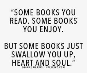 book, quotes, and heart image