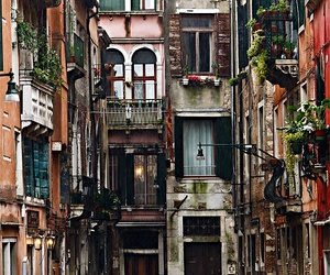 beautiful, venice, and house image