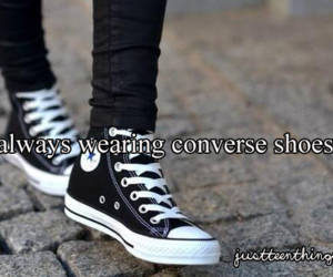 converse, teen, and shoes image