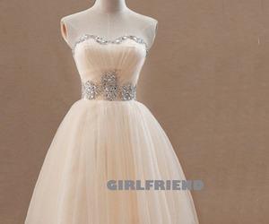 dress, prom dress, and cute image