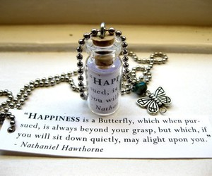 happiness, butterfly, and quote image