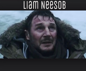 funny, edit, and liam neeson image