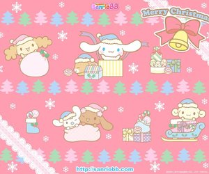 christmas, cinnamoroll, and merry christmas image
