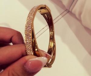 gold, diamond, and nails image