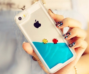 iphone, fish, and case image
