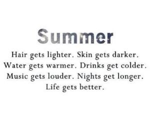 summer, fun, and hair image