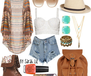 fashion, outfit, and bohemian image