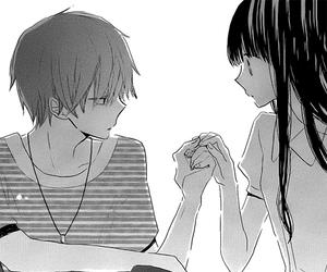 manga, couple, and last game image
