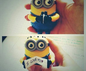 minions, love, and I Love You image