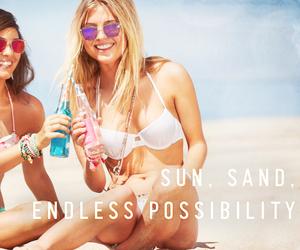 summer, hollisterhousecontest, and beach image