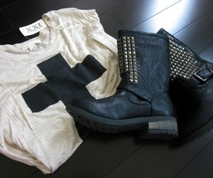 fashion, boots, and style image