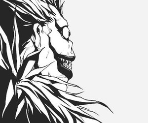 dark, Darkness, and death note image