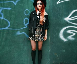 creepers, grunge, and leather image
