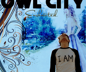 cd cover, love quotes, and Owl City image