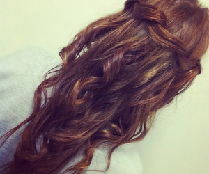 brunette, love, and girl image