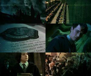 bellatrix, draco malfoy, and harry potter image