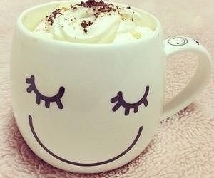 cup, coffee, and smile image