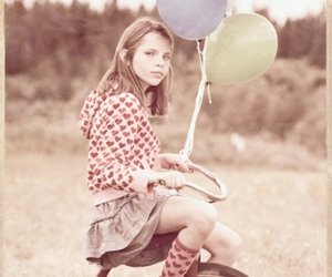 adorable, balloons, and photography image