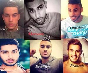 francais, bg, and tunisien image