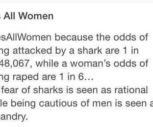 feminism and shark image