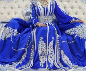 blue, takchita, and morocco image