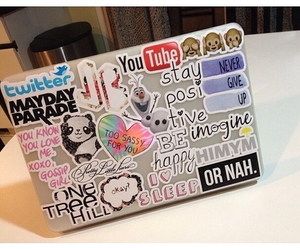 hipster, laptop, and monkeys image