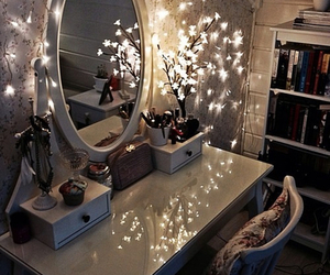 light, room, and mirror image