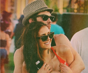 couple, Nina Dobrev, and cute image