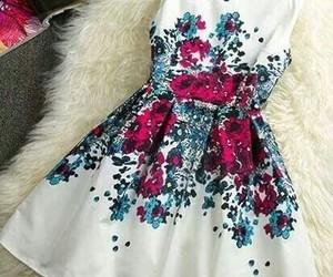 dress, moda, and pink image
