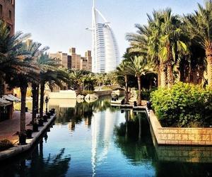 Dubai, summer, and city image